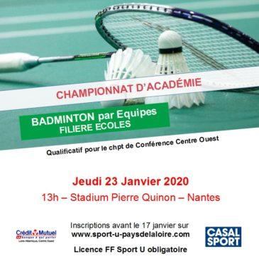Badminton Ecoles