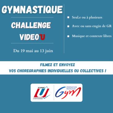 Gymnastique rythmique // challenge vidéo'U